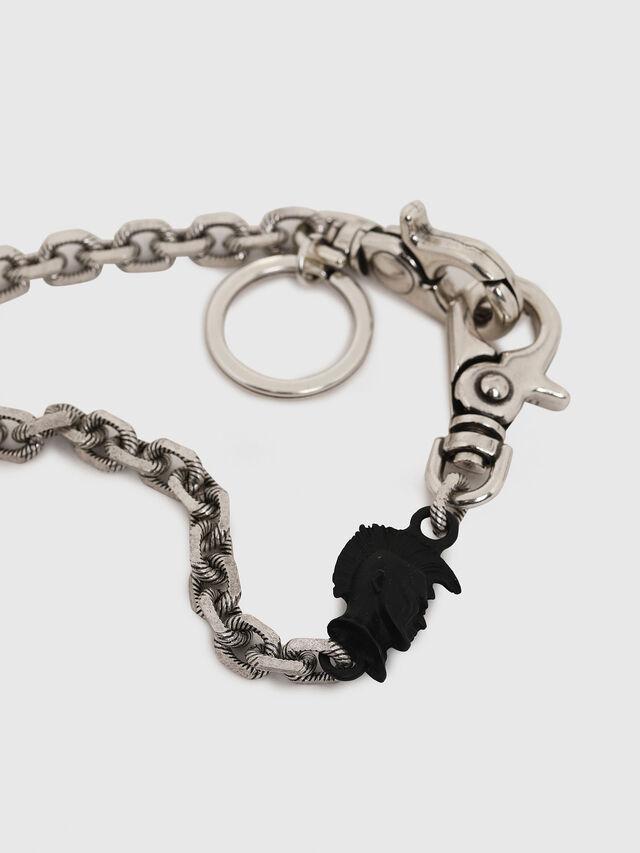 Diesel - K-GORGO, Silver/Black - Bijoux and Gadgets - Image 2