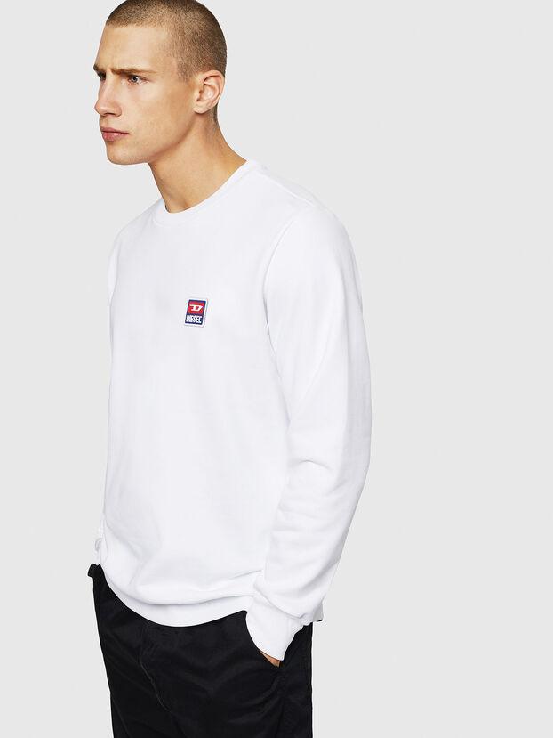 S-GIR-DIV-P, White - Sweaters