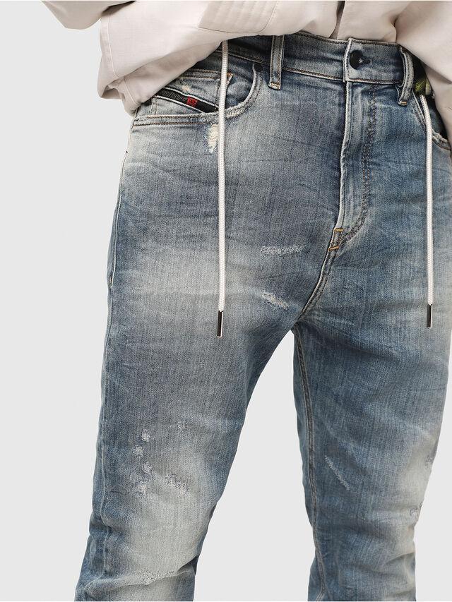 Diesel - D-Vider JoggJeans 087AD, Light Blue - Jeans - Image 3