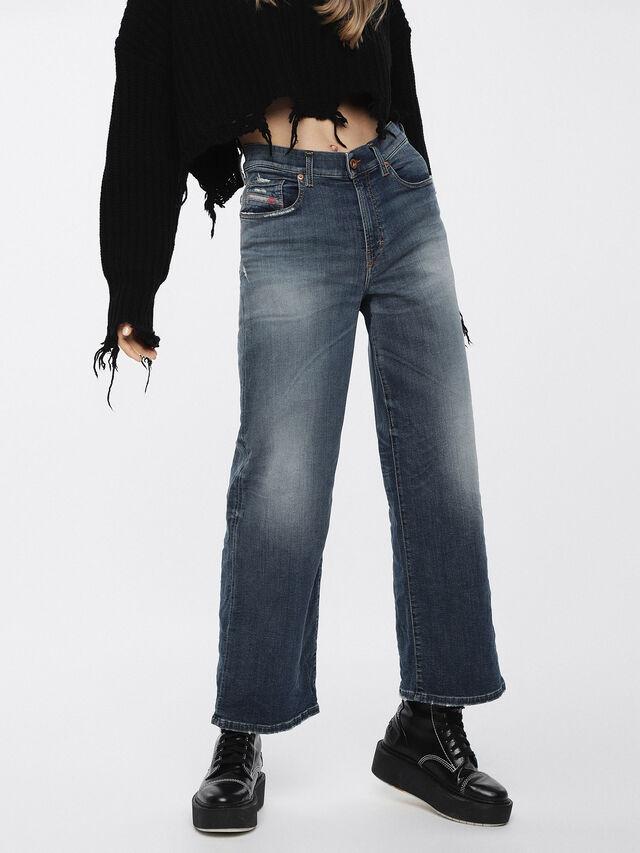 Diesel - Widee JoggJeans 084YP, Medium blue - Jeans - Image 1