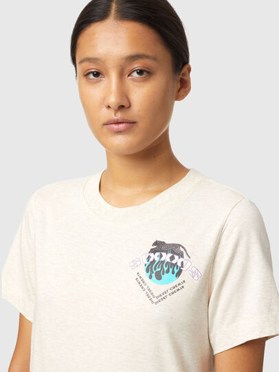 Diesel - T-LILLY-B1, White - T-Shirts - Image 3