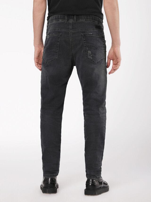 Diesel - Narrot JoggJeans 069AF, Black/Dark grey - Jeans - Image 2