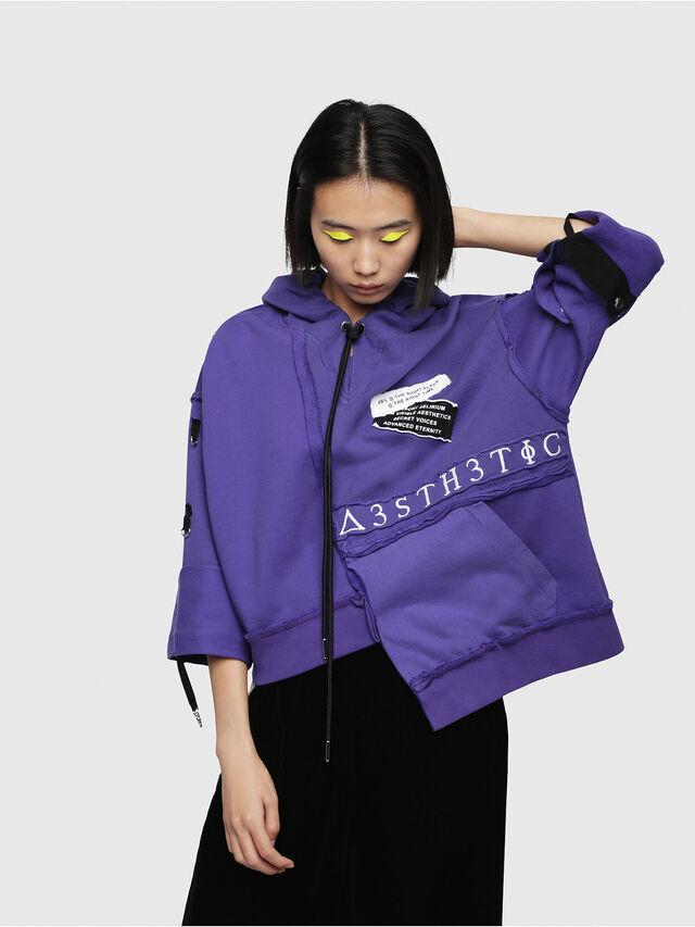 Diesel - F-MIKI, Violet - Sweaters - Image 1