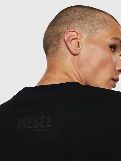 Diesel - S-BAY-B10, Black - Sweaters - Image 5