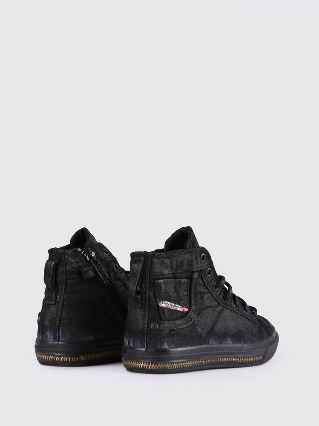 Diesel - SN MID 30 EXPOSURE Z, Black/Blue - Footwear - Image 3