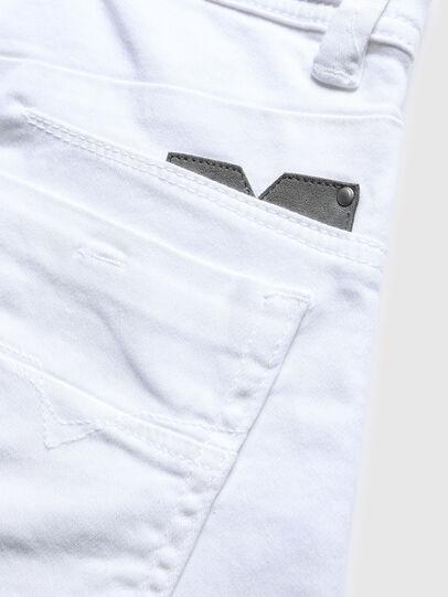 Diesel - DARRON-R-J SH-N JOGGJEANS, White - Shorts - Image 3