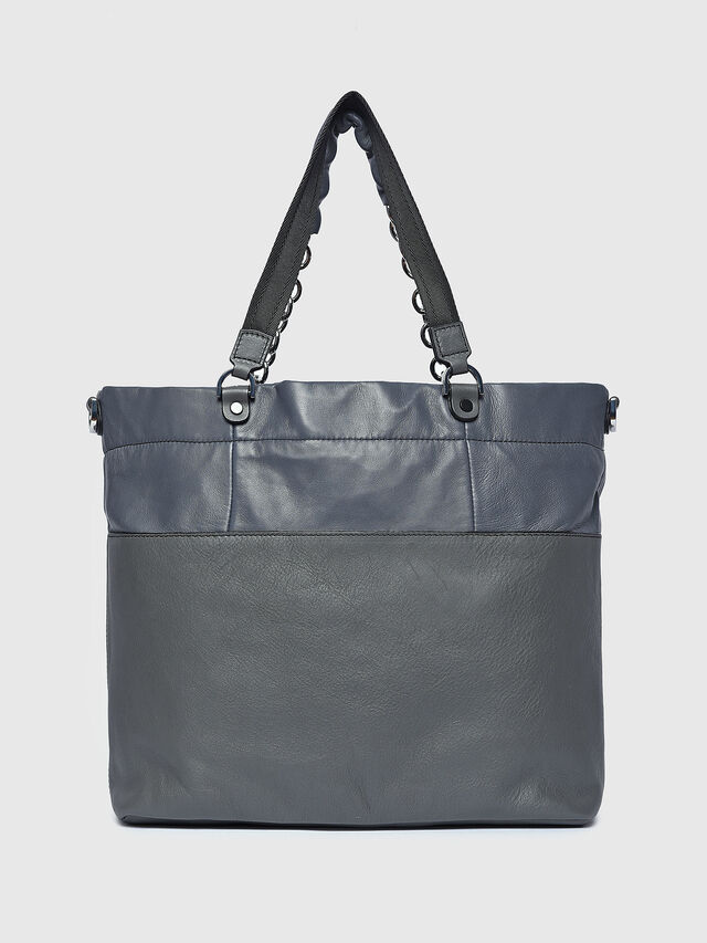 Diesel - MISS-MATCH SHOPPER, Grey - Shopping and Shoulder Bags - Image 2
