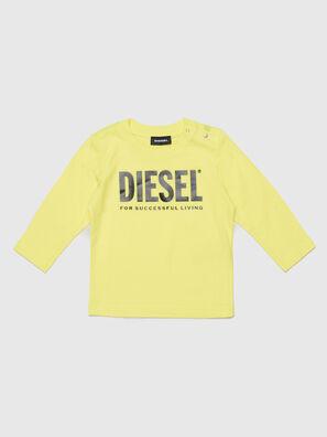 TJUSTLOGOB ML, Yellow - T-shirts and Tops