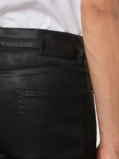 Diesel - D-Strukt JoggJeans 069QX, Black/Green - Jeans - Image 4