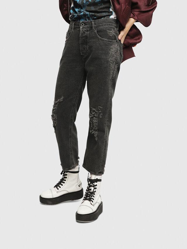 Diesel - Aryel 085AJ, Black/Dark grey - Jeans - Image 3