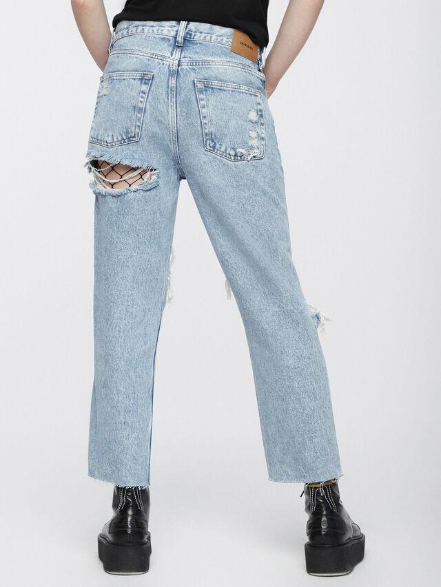 Diesel - Aryel 0076N, Light Blue - Jeans - Image 2
