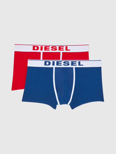 Diesel - UMBX-DAMIENTWOPACK, Blue/Red - Trunks - Image 1