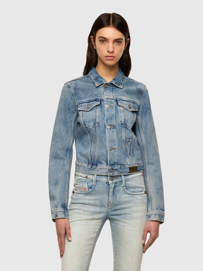 Diesel - DE-LIMMY, Light Blue - Denim Jackets - Image 1