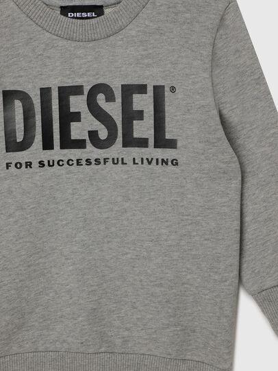Diesel - SCREWDIVISION-LOGOB-, Grey - Sweaters - Image 3