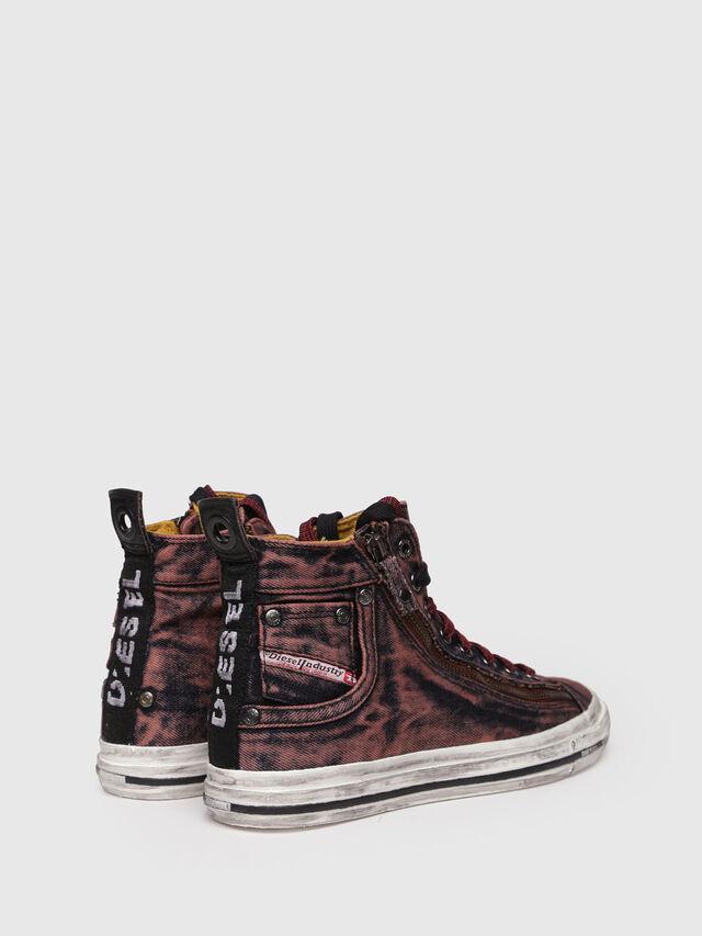 Diesel - EXPO-ZIP W, Burgundy - Sneakers - Image 2