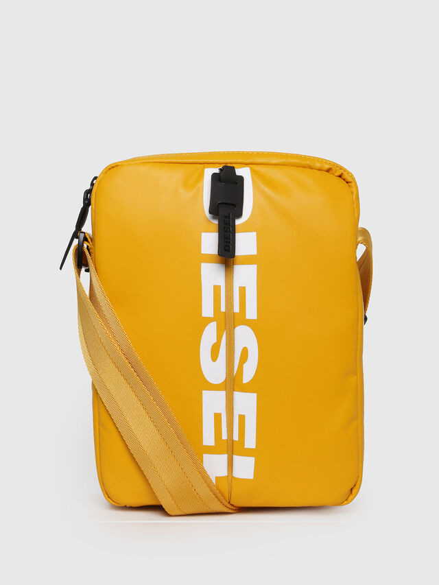 Diesel - F-BOLD SMALL CROSS, Honey - Crossbody Bags - Image 1