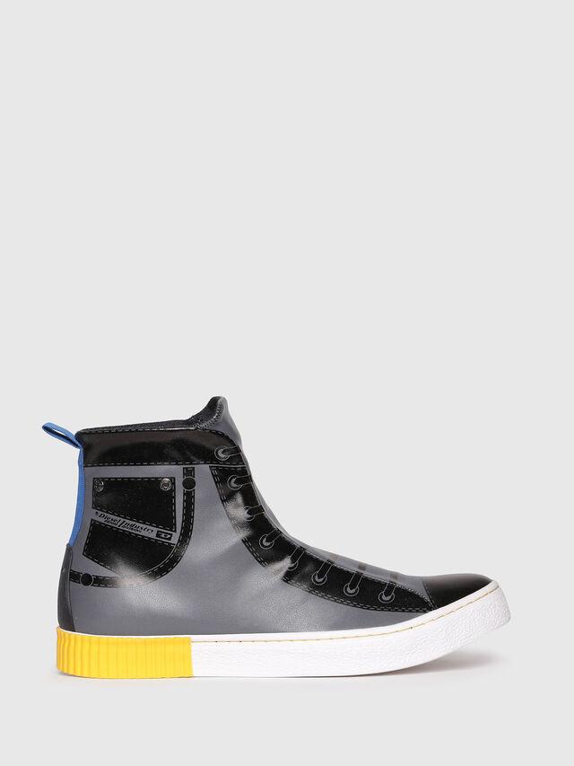 Diesel - S-DIESEL IMAGINEE MID, Gray/Black - Sneakers - Image 1