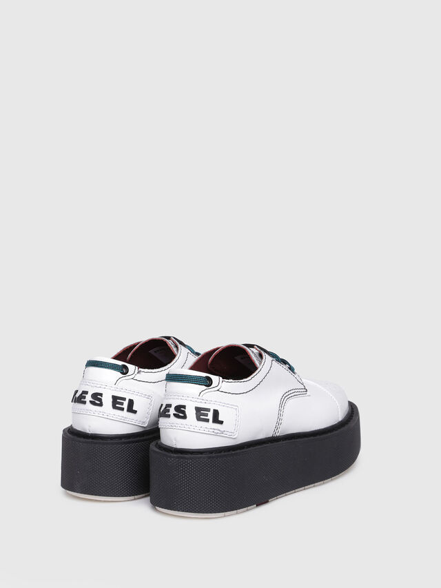 Diesel - D-CAGE LC, White - Flats - Image 3