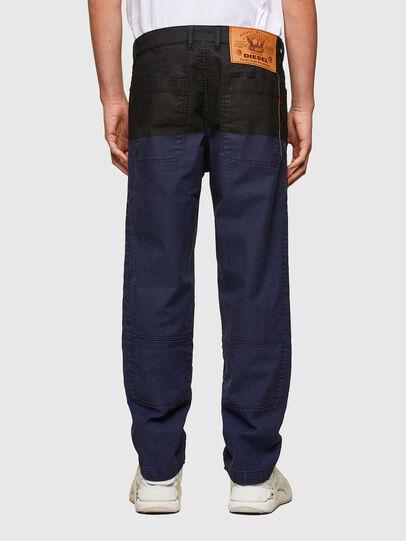 Diesel - D-Azerr JoggJeans® 0DDAY, Dark Blue - Jeans - Image 2
