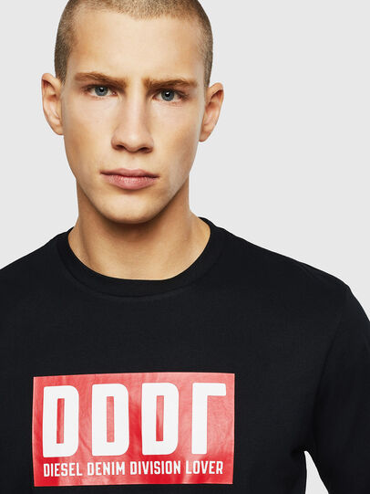 Diesel - T-JUST-A9, Black - T-Shirts - Image 3