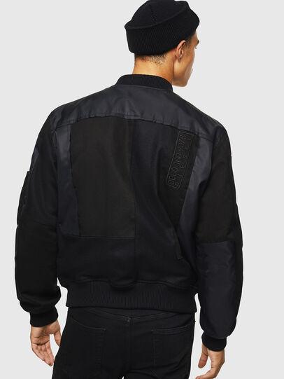 Diesel - W-GARBO, Black - Winter Jackets - Image 2