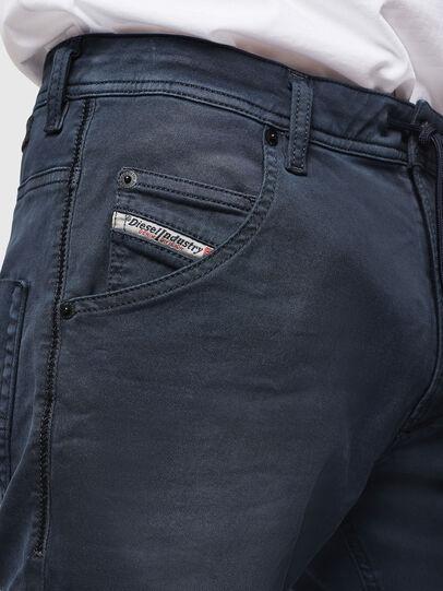 Diesel - Krooley Long JoggJeans 0670M, Dark Blue - Jeans - Image 3