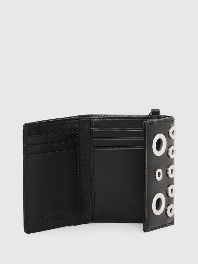 Diesel - YAMY II, Black/White - Small Wallets - Image 3