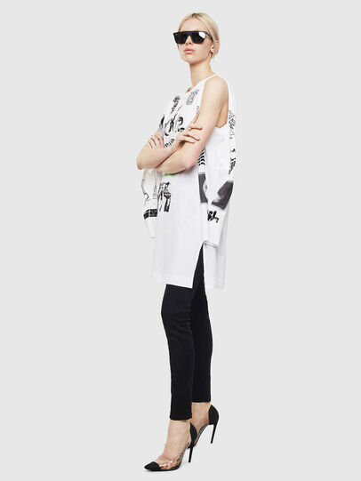 Diesel - T-ROSY-A, White - T-Shirts - Image 5