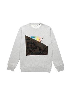 D-HALF&HALF, Grey - Sweaters