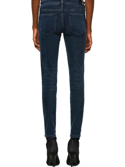 Diesel - Slandy Low 009QF, Dark Blue - Jeans - Image 2
