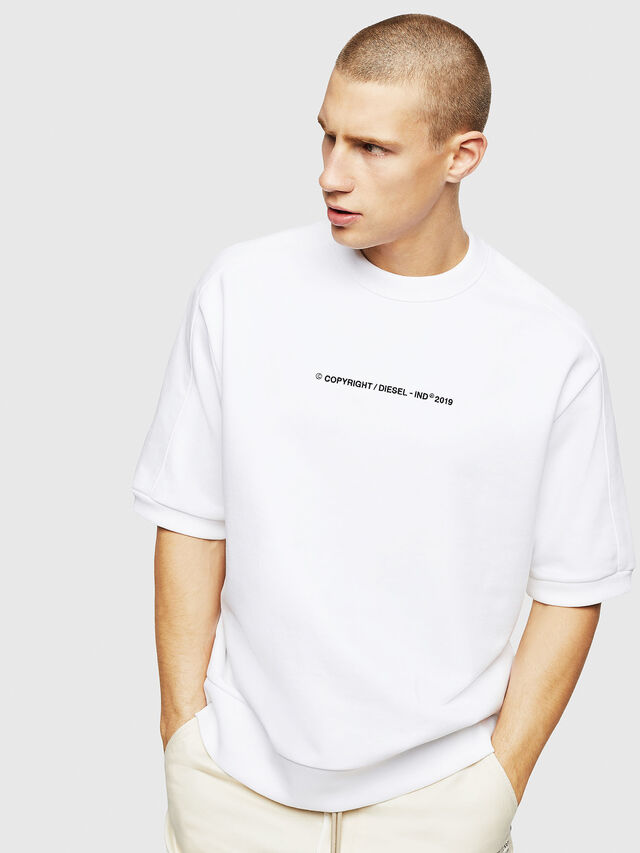 Diesel - S-MAGGY-SH-COPY, White - Sweaters - Image 1