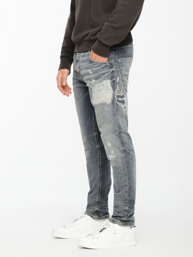 Diesel - Krooley JoggJeans 069DA, Light Blue - Jeans - Image 1