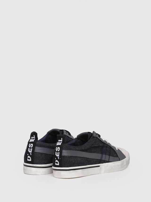Diesel - D-VELOWS LOW LACE, Black/Grey - Sneakers - Image 2