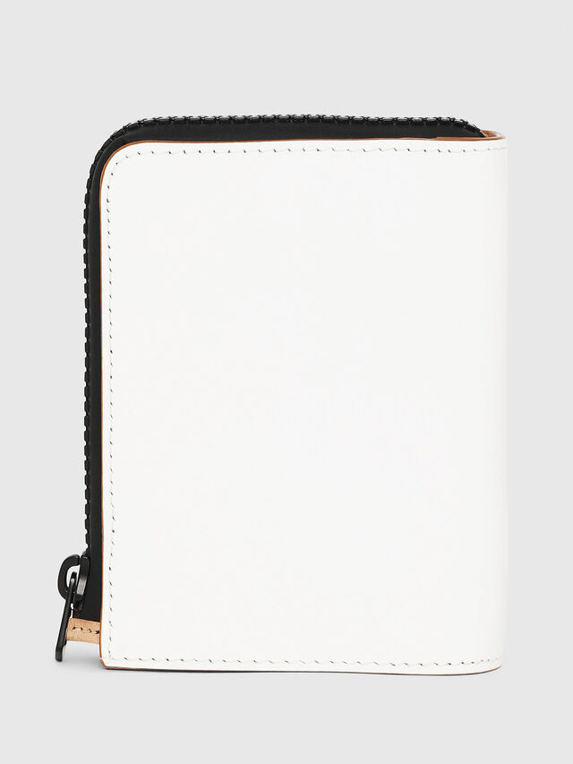 Diesel - L-12 ZIP, White - Small Wallets - Image 2