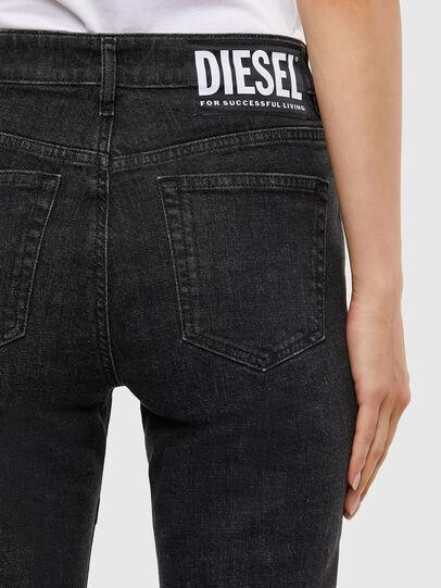 Diesel - D-Joy JoggJeans 009KY, Black/Dark grey - Jeans - Image 6