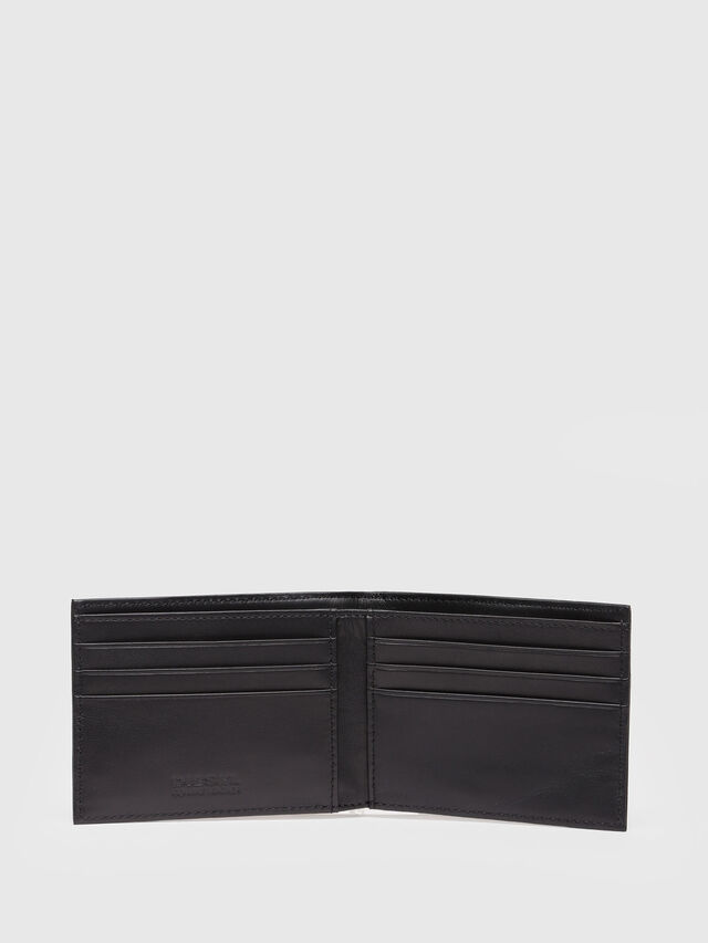 Diesel - NEELA XS, Black Leather - Small Wallets - Image 3