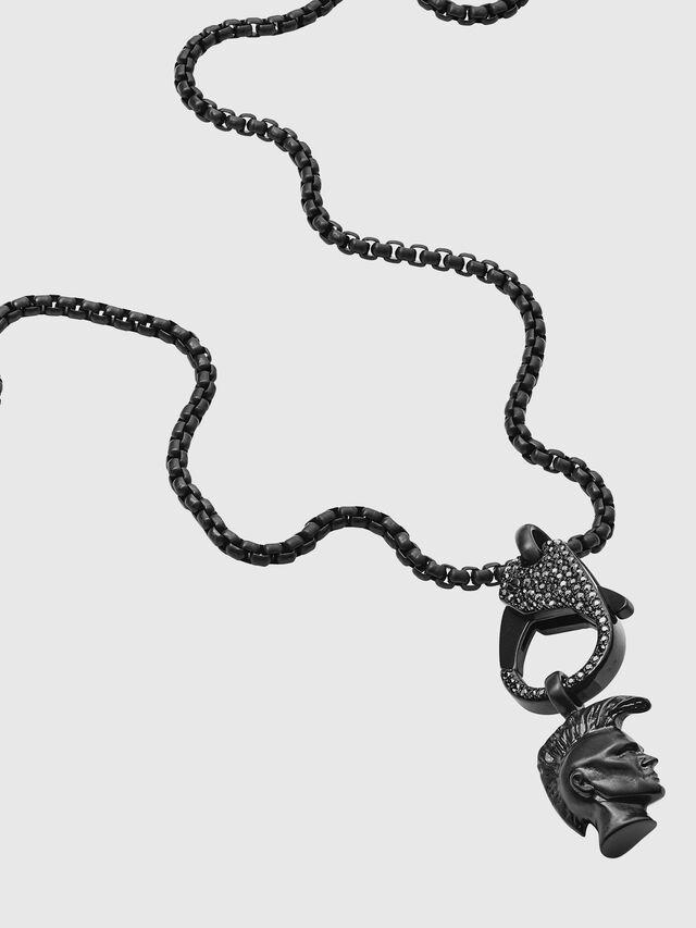Diesel - DX1160, Black - Necklaces - Image 2