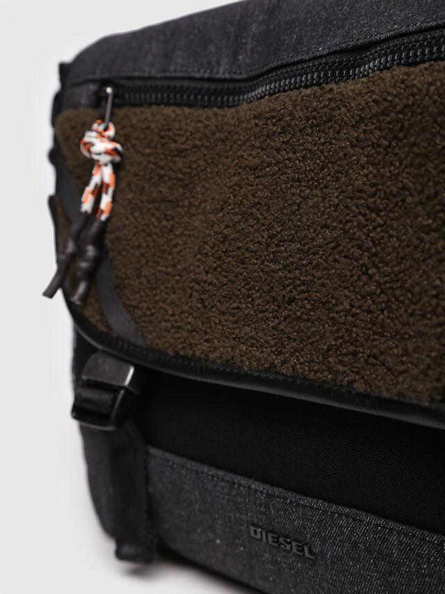 Diesel - F-URBHANITY MESSENGE, Black/Brown - Briefcases - Image 3