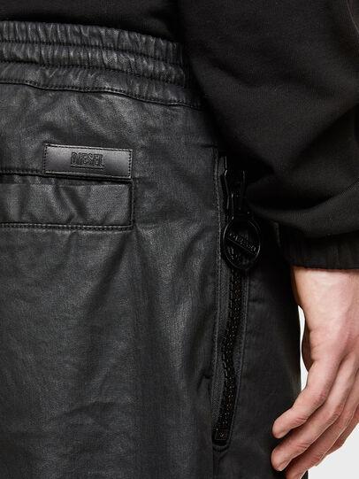 Diesel - D-HORTY-SP JOGGJEANS, Black - Shorts - Image 3