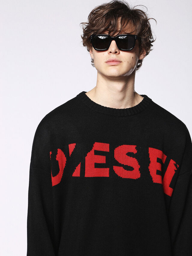 Diesel - DL0253, Black/Red - Sunglasses - Image 5