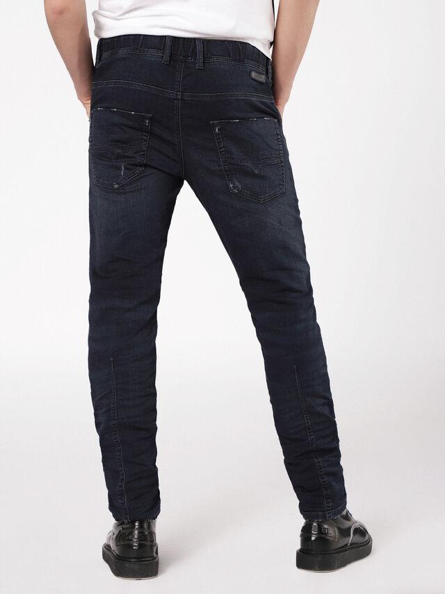 Diesel - Krooley JoggJeans 0699W, Dark Blue - Jeans - Image 2
