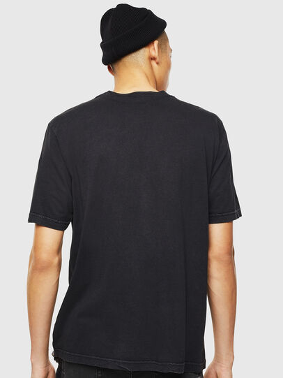 Diesel - T-JUST-J3, Black - T-Shirts - Image 3