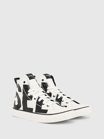 Diesel - S-ASTICO MC, White/Black - Sneakers - Image 2