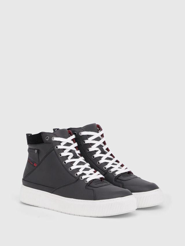 Diesel - S-DANNY MC, Black/Red - Sneakers - Image 2