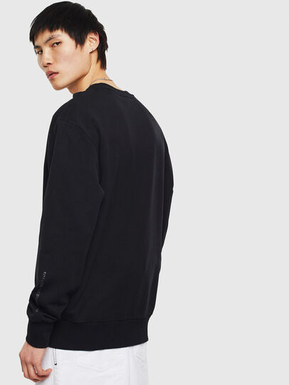 Diesel - S-BIAY-S1, Black - Sweaters - Image 4