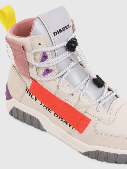 Diesel - S-RUA MID SP W, White - Sneakers - Image 4
