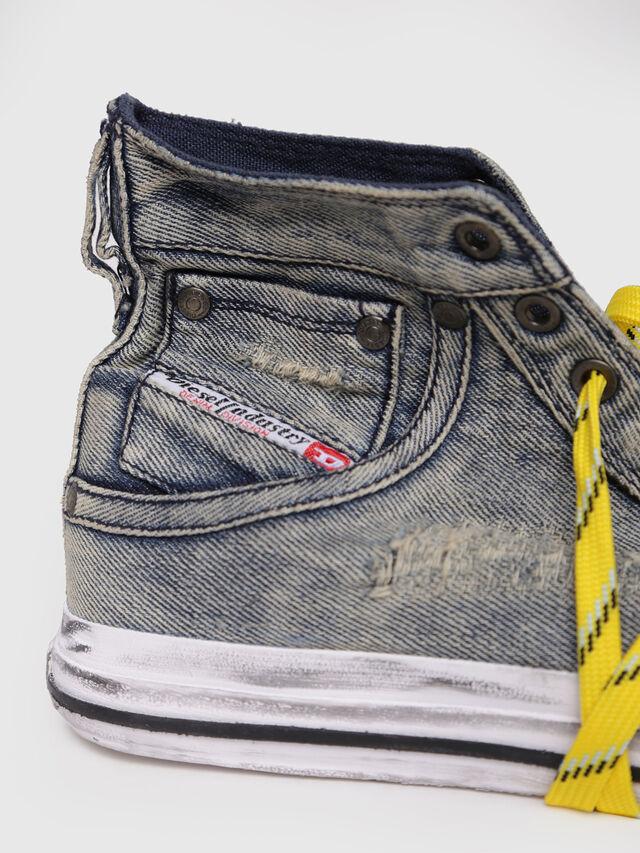 Diesel - EXPOSURE I, Grey Jeans - Sneakers - Image 4