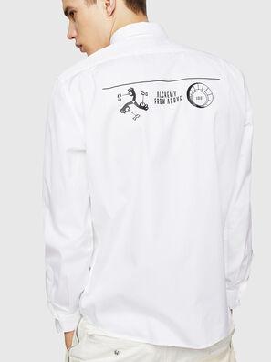 S-VEN-PRINT, White - Shirts