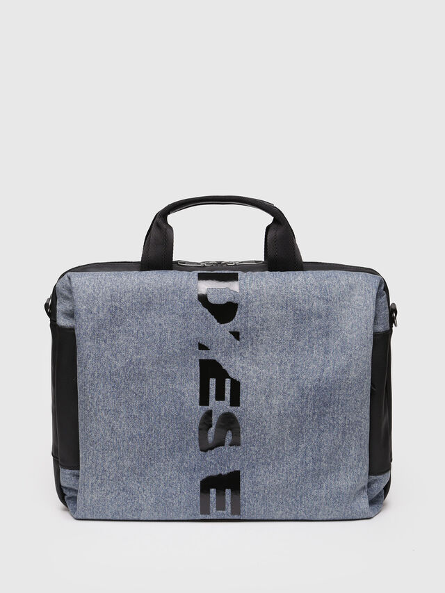Diesel - D-SUBTORYAL BRIEF, Blue Jeans - Shopping and Shoulder Bags - Image 1