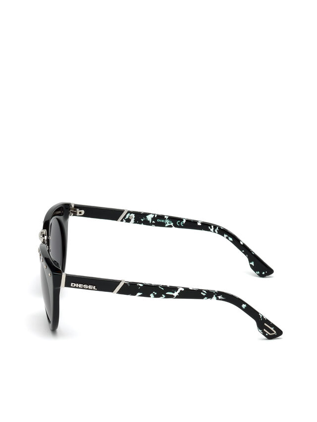Diesel - DL0211, Black - Eyewear - Image 3